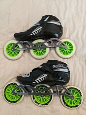 Rollerblades Bont Jet 9.5 Us, 43 Eu, 285 mm. Used for 3 hr.