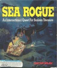 Sea Rogue PC sunken deep sea treasure hunting gold gems jewels quest sim game!