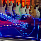Parker Fly guitar LED Laser Lamp - White light can be colour filtered (Copy) for sale