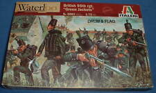 "ITALERI 6083 NAPOLEONICO British 95th FUCILI. ""Green Giacche"". SCALA 1/72"