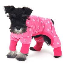 Pet Clothes Dog Pajama Jumpsuit Cute Soft Cotton Teddy Cat Sleepwear Coat