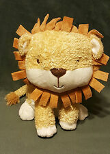 """LARRY THE LION PLUSH GOLDEN TAN & WHITE APPROX 11in- Only at Hallmark """"CUTE"""""""