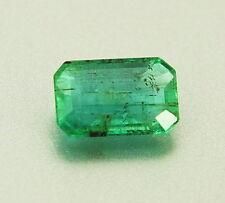 TOP EMERALD : 1,14 Ct Natürlicher Grüner Kolumbien Smaragd