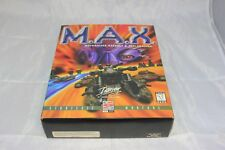 M.A.X.: Mechanized Assault & Exploration (PC 1996) NO GAME INCLUDED BIG BOX ONLY