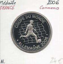 MEDAILLE Commémorative - COUPE DU MONDE - ALLEMAGNE 2006 // Qualité: NEUVE