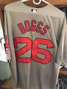 Wade Boggs Red Sox Away Jersey All Sewn XL New w/o Tags #26
