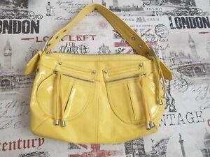 Details about  /GAP summer white soft leather brass hardware shoulder hobo bag