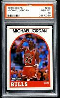 "1989 Michael Jordan PSA 10 GEM MINT Hoops #200 ""Flawless"" Chicago Bulls"