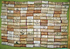 150 Natural Used Wine Corks, No Synthetic, No Champagne