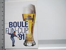 Aufkleber Sticker Sanwald - Weizenbier - Brauerei - Boule (S1487)