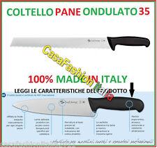 SANELLI COLTELLO PANE ONDULATO CM 35 61141 5368 PROFESSIONALE HORECA