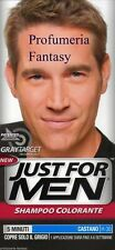 JUST FOR MEN SHAMPOO COLORANTE CASTANO H-30 GREY TARGET TECHNOLOGY