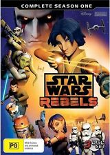 Star Wars Rebels : Season 1 (DVD, 2015, 3-Disc Set)