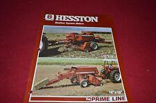 Hesston 4600 4650 Square Baler Dealer's Brochure DCPA2