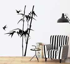 Wall Decal Branch Tree Bamboo Bird Bedroom Vinyl Sticker (z3642)