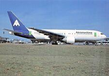 AEROMARITIME BOEING 767-200ER(F-GHGD) Airline Airplane Postcard