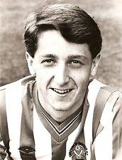 ORIGINALE stampa foto Sheffield United FC Simon Grayson 1987