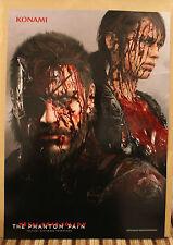 PS4 Metal Gear Solid V 5 Phantom dolor Sangre Cartel Promo menta NUEVO