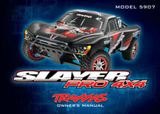 Traxxas TRA5999X Owner Manual: Slayer Pro 4x4