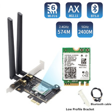 3000Mbps Wi-Fi 6 AX200 802.11 ax PCI-E x1 Wireless Adapter Card Bluetooth 5.0