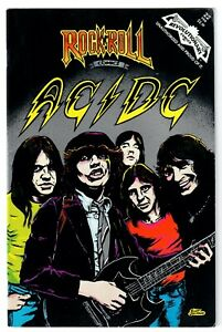 AC/DC 1991 Rock N' Roll Revolutionary Comics #22 First Edition