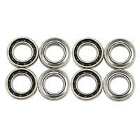 8pcs RC Car Ball Bearings Parts for WLtoys 144001 124019 Car Wheel Mount