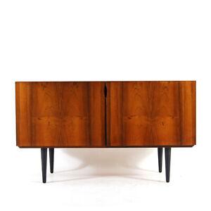 Retro Vintage Danish Rosewood Long Sideboard TV Cabinet 1970s Mid Century Modern