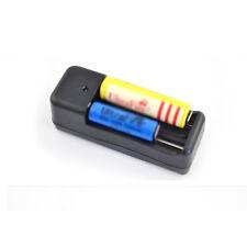 EU Plug Dual Battery Charger for 3.7V 18650 16340 14500 AA/AAA Li-ion Batter G68