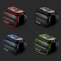 Bicycle Mountain Bike Cycling Frame Front Top Tube Bag Pouch Pannier Waterproof