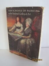 Ten Schools of Painting in the National Gallery of Art (Lot of 9 Booklets)
