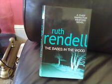 The Babes in the Wood-Ruth Rendell Hardback English Genre Fiction BCA 2002