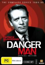 Danger Man the Complete Series (1964-1966) NEW R4 DVD