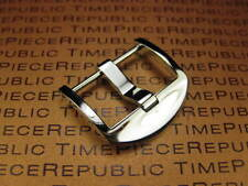 20mm Swiss 316L Stainless Screw In Thumbnail Buckle 1pc LUMINOR PANERAI Polish