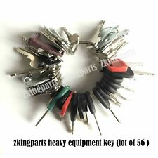 All New 56 Universal Starter Key Plant Key Ignition Starter Key Heavy Equipment