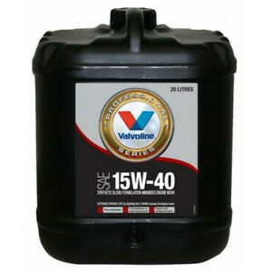 Valvoline Semi Synthetic VPS Engine Oil 15W-40 20L 1284.2 fits Fiat 1500-2300...