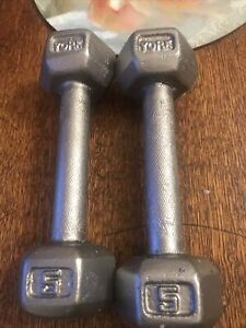 York 5lb /2.2 Kg Dumbells