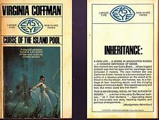 "Virginia Coffman ""CURSE OF THE ISLAND POOL"" gothic romance / paperback"