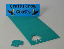 10 x TURQUOISE STICKY FEET in 2mm TURQUOISE FOAM