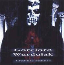 Wurdulak / Gorelord - Creature Feature CD (RedStream, 2001)  *NECROPHAGIA