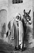 DONKEY BOY Arab of Cairo - Superb GEROME Antique Print