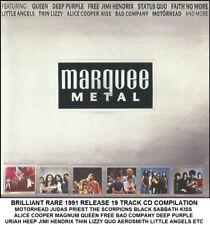 Best Greatest Rock Metal Hits CD - Motorhead Judas Priest Scorpions Kiss Queen