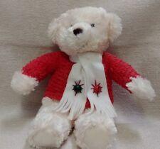"Hallmark 14"" Teddy Bear Plush plays Jingle Bells 180136"