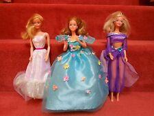 """lot de 3 poupées Barbie """" Mattel """"  années 80"""