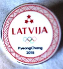 PYEONGCHANG 2018 OLYMPIC  TEAM PIN: LATVIA