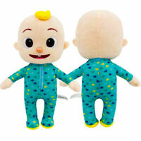 "Gift 10.2"" Cocomelon JJ Plush Toy Boy Soft Stuffed Doll Educational Kids Toy BG"