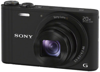 Sony Cyber-shot DSC-WX350 Digital Camera: Black + Free Crumpler Case