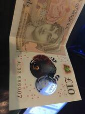 007 Ten Pound Note