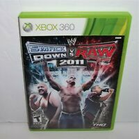 WWE Smackdown vs Raw 2011 Microsoft Xbox 360 See Description Works Complete