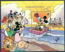 kompl.ausg. Postfrisch 1992 Walt-disney-figuren Gambia Block147