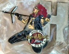 "Hard Rock Cafe Uc Osaka 2001 Musician Letter Series Pin #1/12 ""H"" 30 Years 30th"